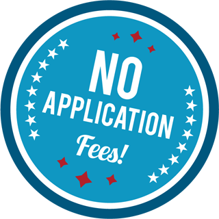 No Application Fees